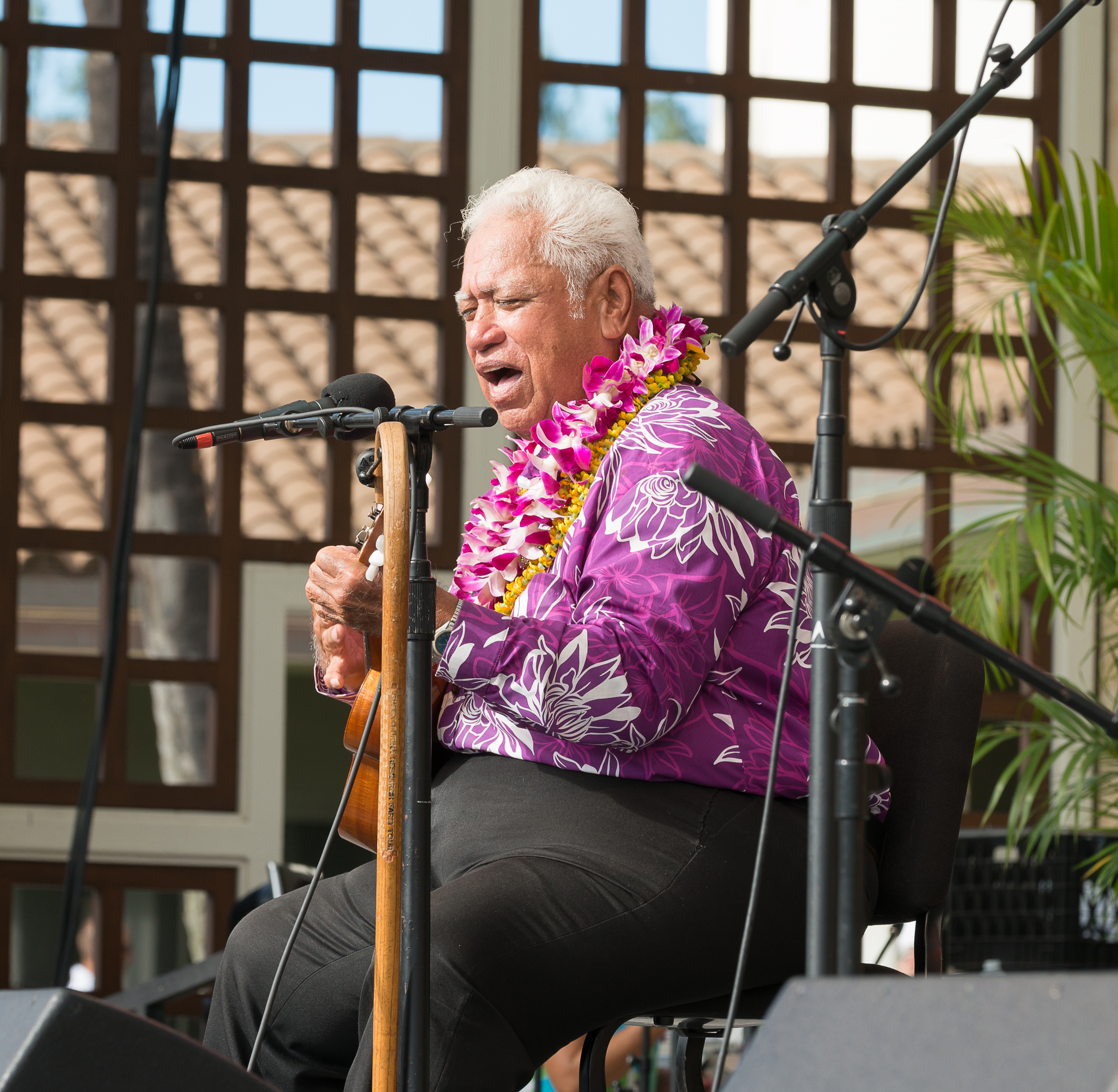 11th Annual Maui 'Ukulele Festival. PC: Richard Hoʻopiʻi, credit Aubrey Hord Photography.