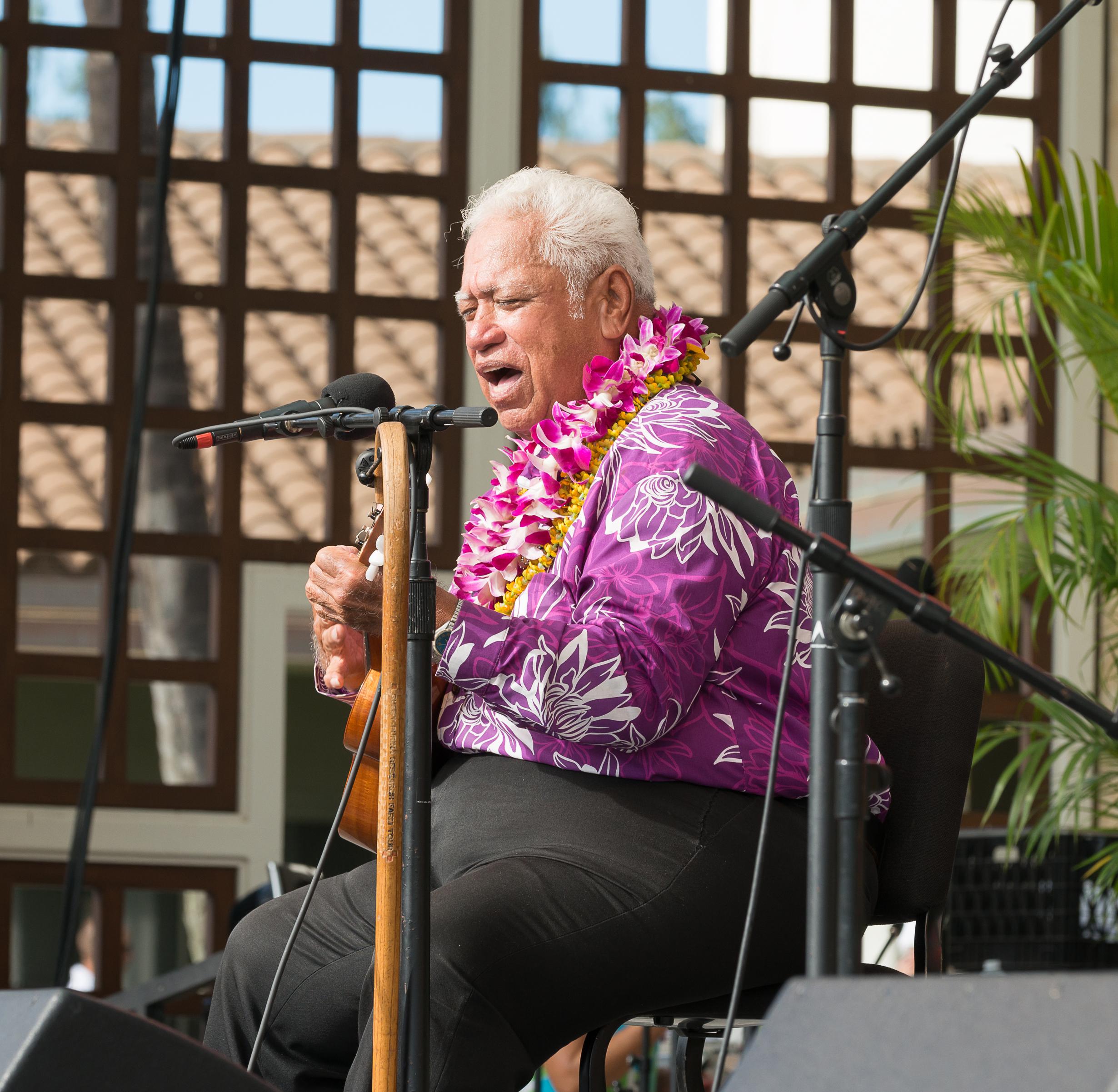 11th Annual Maui 'Ukulele Festival. PC: Richard Hoʻopiʻi, credit Aubrey Hord Photography.