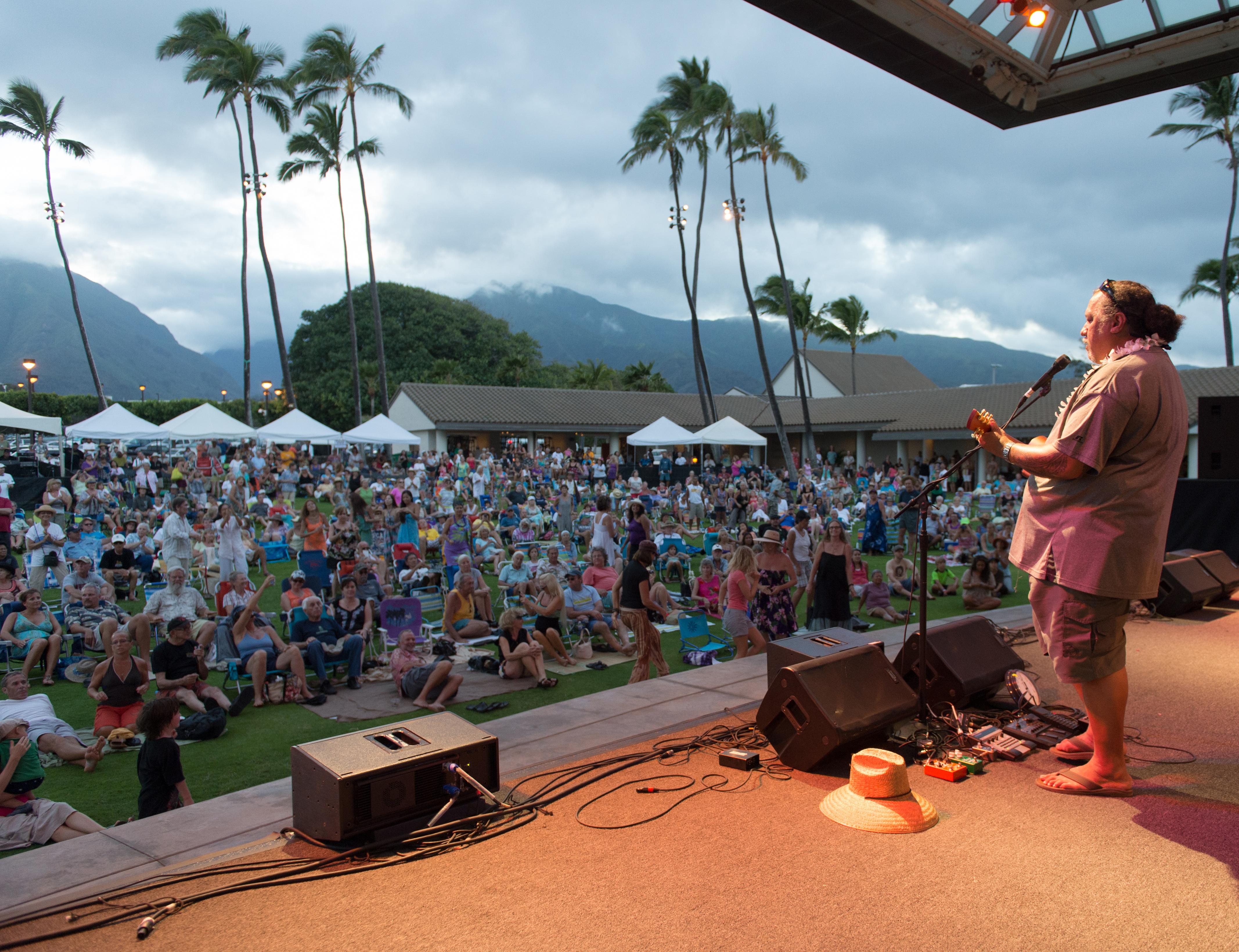 11th Annual Maui 'Ukulele Festival. Willie K, photo credit Aubrey Hord Photography.
