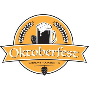 Gannon's celebrates Oktoberfest with a special menu, Oct. 1 to 15, 2016. Courtesy image.