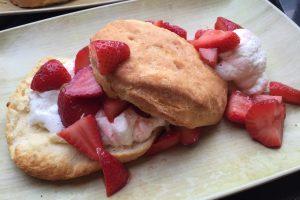 Kula Strawberry Fields breakfast item, available Sundays at Pailolo Bar & Grill through football season.  Courtesy photo.