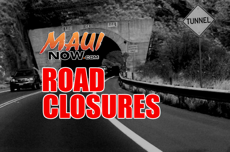 Lane Closures on the Lahaina Bypass and Hāna Highway in Keʻanae This Weekend