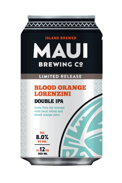 Blood Orange Lorenzini DIPA is back by popular demand for a limited time this month. It is available at the Kīhei tasting room and Lahaina Brewpub, also at stores where Maui Brewing Co. is sold.