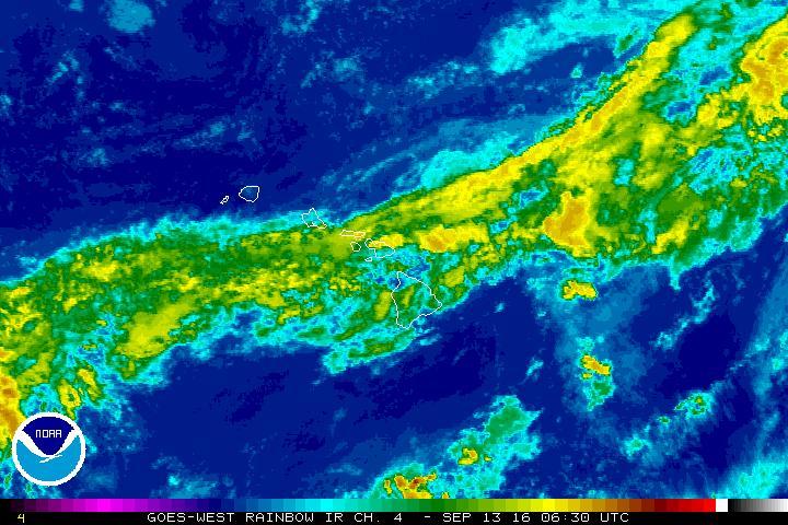 Flash flood warning, 8:30 p.m. 9.12.16 satellite imagery courtesy NOAA/NWS.