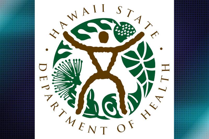 Hawaiʻi Department of Health logo.