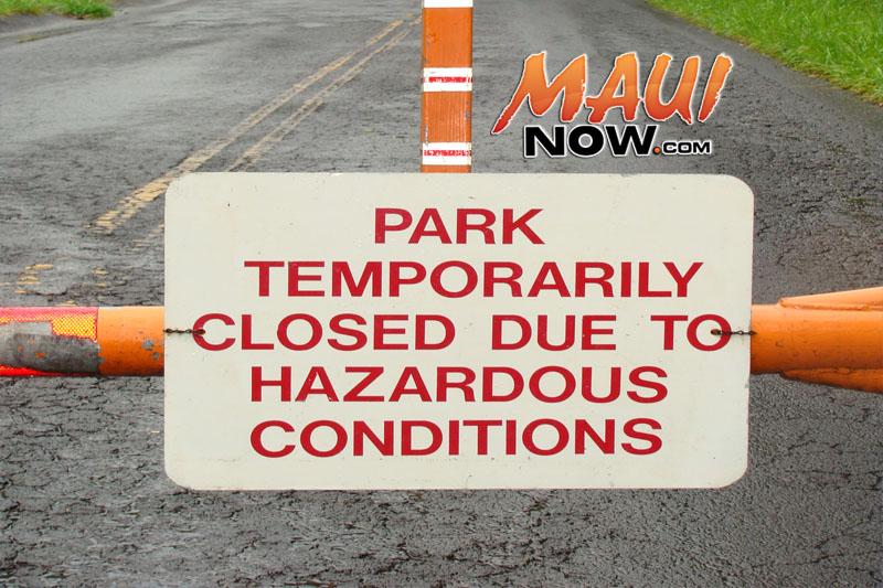 ʻĪao closed indefinitely.