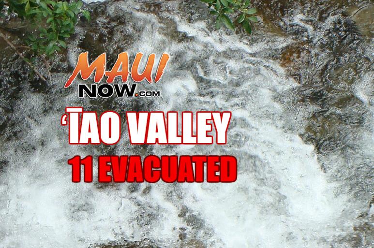 ʻĪao evacuated.