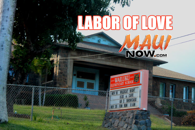 Labor of Love. Maui Now image.