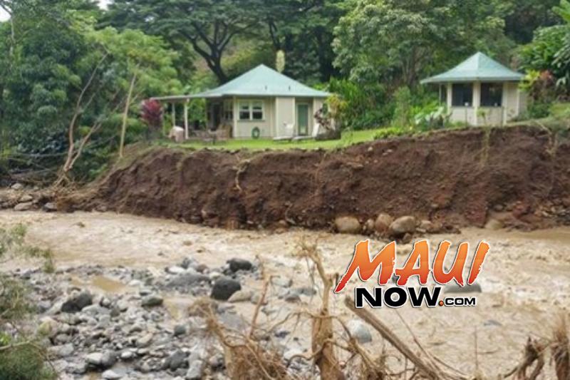 ʻĪao Valley flood damage.