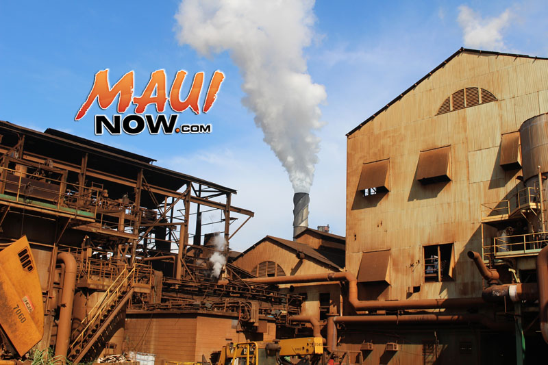 Maui sugar. Hawaiian Commercial and Sugar Company mill. Photo by Wendy Osher.