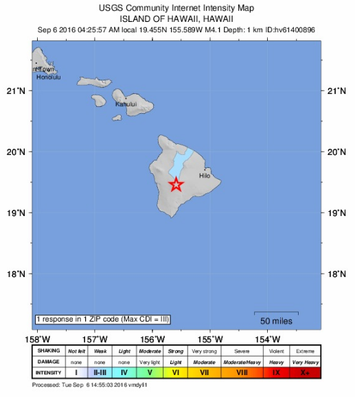 Mauna Loa earthquake image credit: NOAA/USGS/PTWC