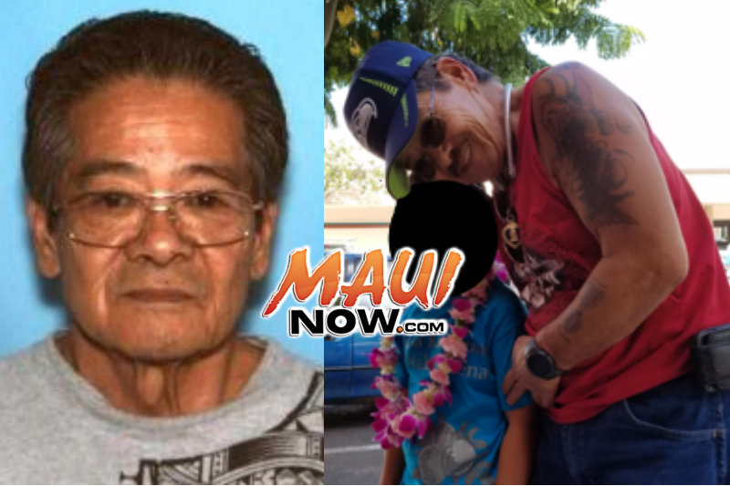 The Maui Police Department is seeking the public's assistance in locating 67-year-old Clifton Une.