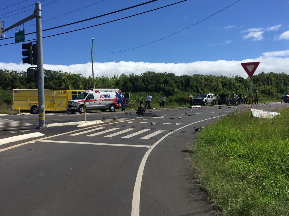 Haleakalā Highway accident, 10.816. PC: Tracy Michelle O'Reilly