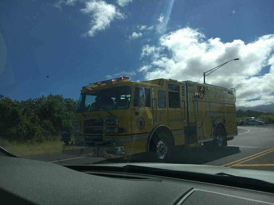 Haleakalā Highway accident, 10.816. PC: Maui Now.
