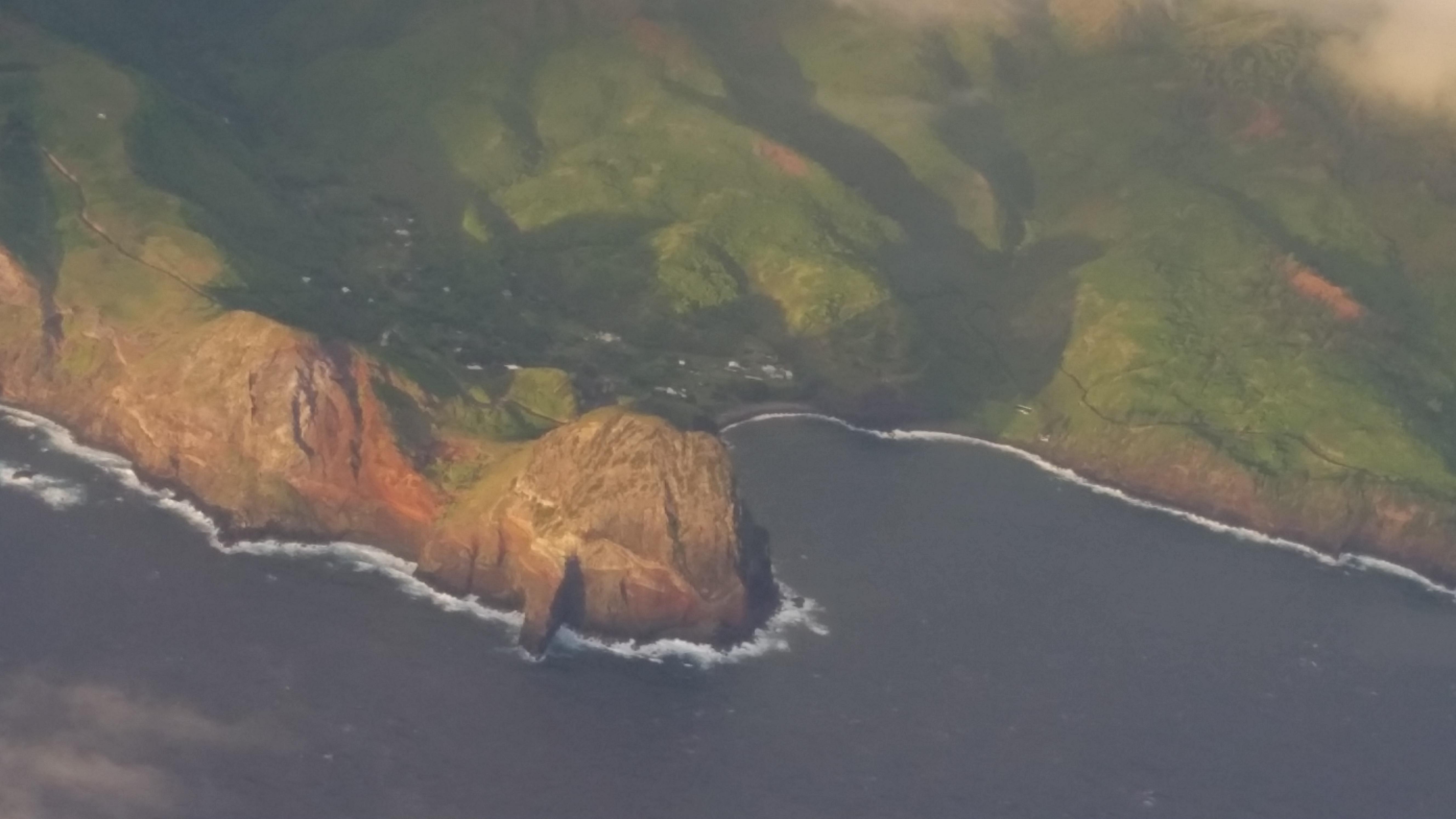 Kahakuloa aerial by Wendy Osher.