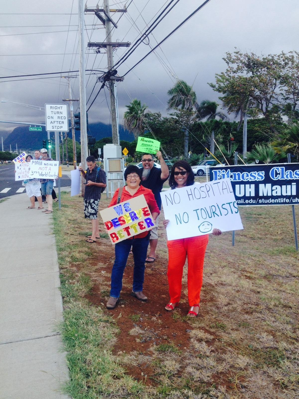 Informational briefing on the status of health care on Maui, 10.17.16. Courtesy photo.