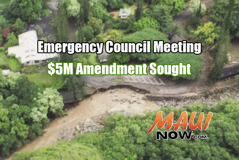 Emergency Council Meeting. Maui Now.