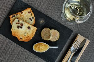 Foie Gras course at Relish Oceanside's dinner on Oct. 20 at The Westin Maui Resort & Spa. Courtesy photo.