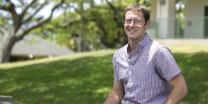 Hearst Scholarship recipient Ryan Gingrich who lives on Maui. Photo Courtesy.
