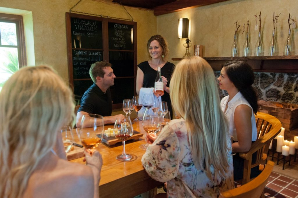To celebrate national 'Drink Local Wine' week, MauiWine will provide kama'aina with complimentary tours of the Old Jail that was built more than 150 years ago and has been reopened again after 20 years. Photo Courtesy.