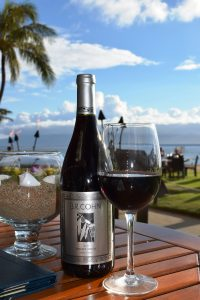 Wine at Relish Oceanside, The Westin Maui Resort & Spa. Courtesy photo.