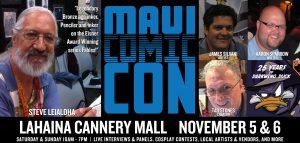 Maui Comi Con 2016