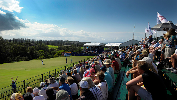 KAPALUA, MAUI, HI U2013 JANUARY 9: A Course Scenic View Of The 18th Green  During The Third Round Of The Hyundai Tournament Of Champions At Plantation  Course At ...