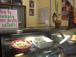 New deli case at Maui Pasta Company.  Photo by Kiaora Bohlool.