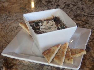 Mushroom appetizer at Pita Paradise in Wailea Gateway Center. Photo by Kiaora Bohlool.