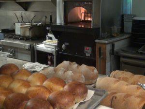 Freshly-baked bread at Matteo's. Photo by Kiaora Bohlool.
