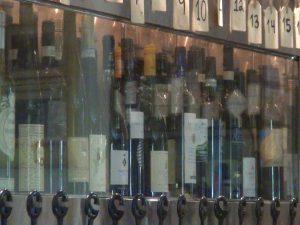 Wines at Matteo's. Photo by Kiaora Bohlool.