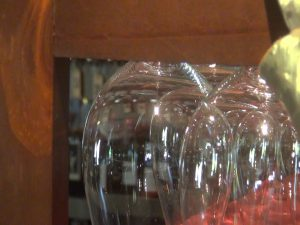 Wines and wine glass. Photo by Kiaora Bohlool.