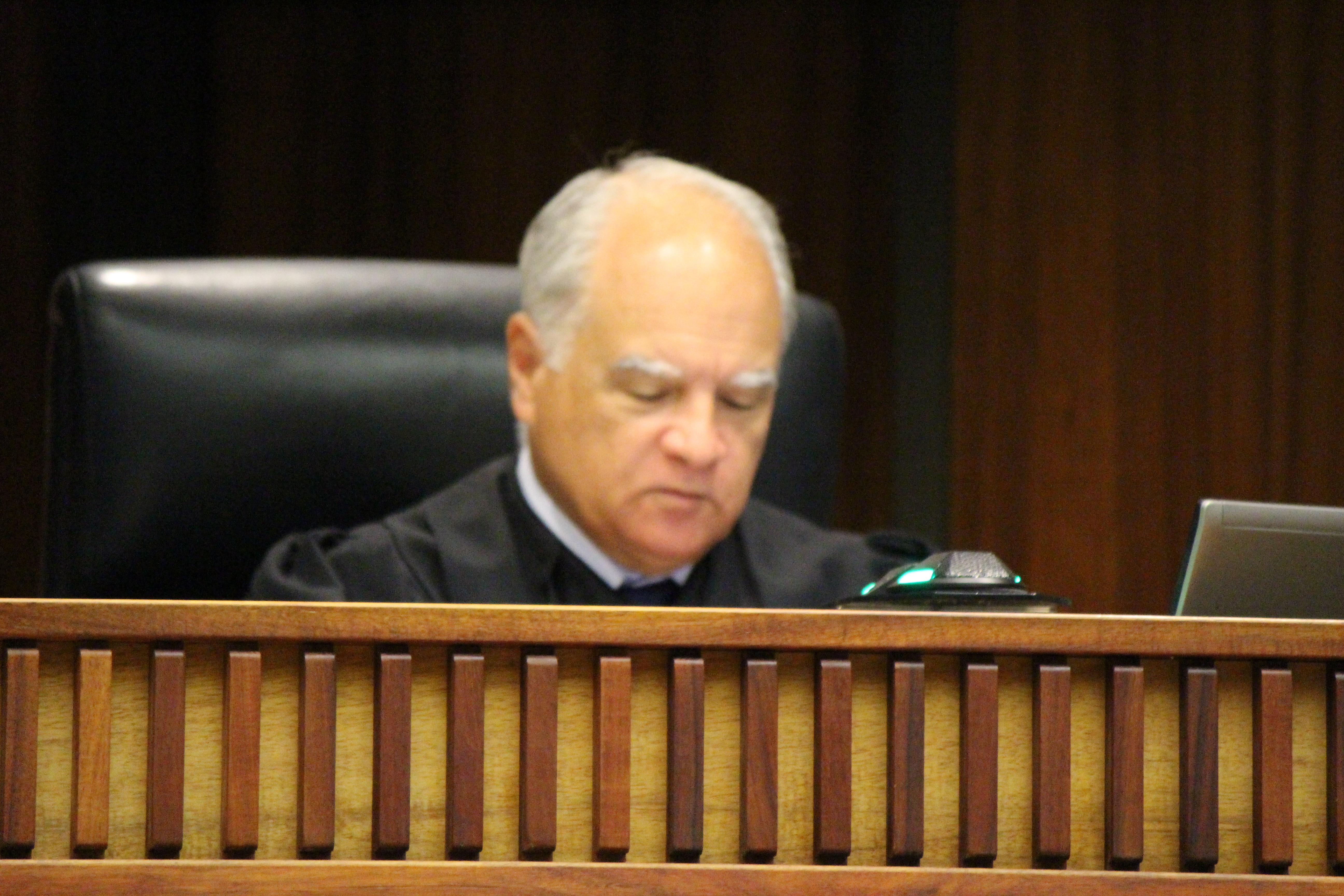 Maui Chief Judge Joseph Cardoza. PC 11.29.16 by Wendy Osher.