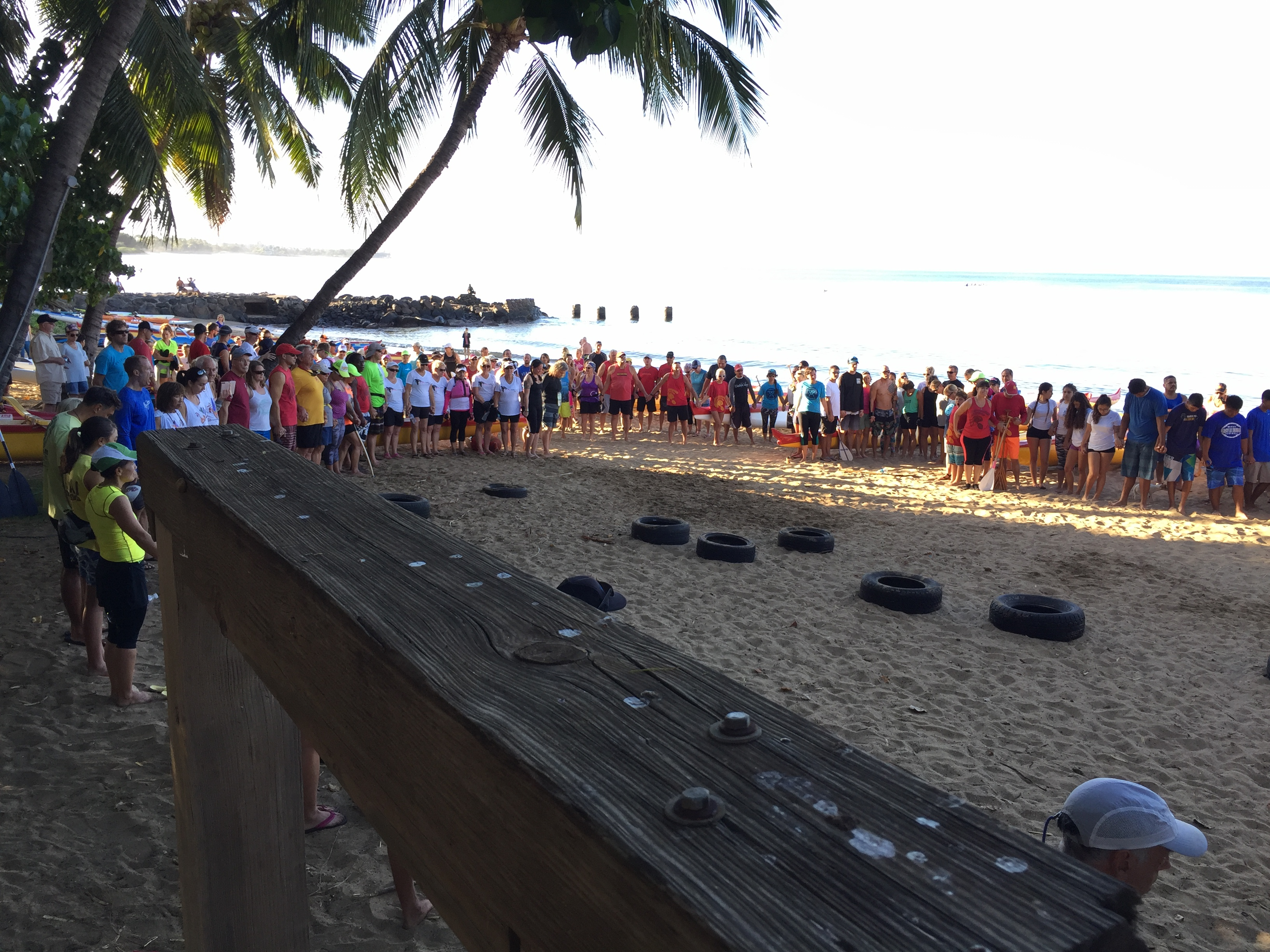 Paddle for Hunger 2016. PC: Hawaiian Paddle Sports