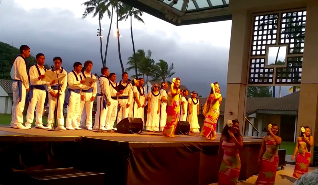 The entertaining Kamehameha Schools Maui Hawaiian Ensemble is comprised of qualified students with talents in voice and dance who share their Hawaiian culture through mele, hula and oli. Courtesy photo.