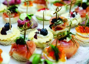 As part of her Tutorial Serise, this month Chef Lee will showcase how to create new and unique appetizers. Photo Courtesy