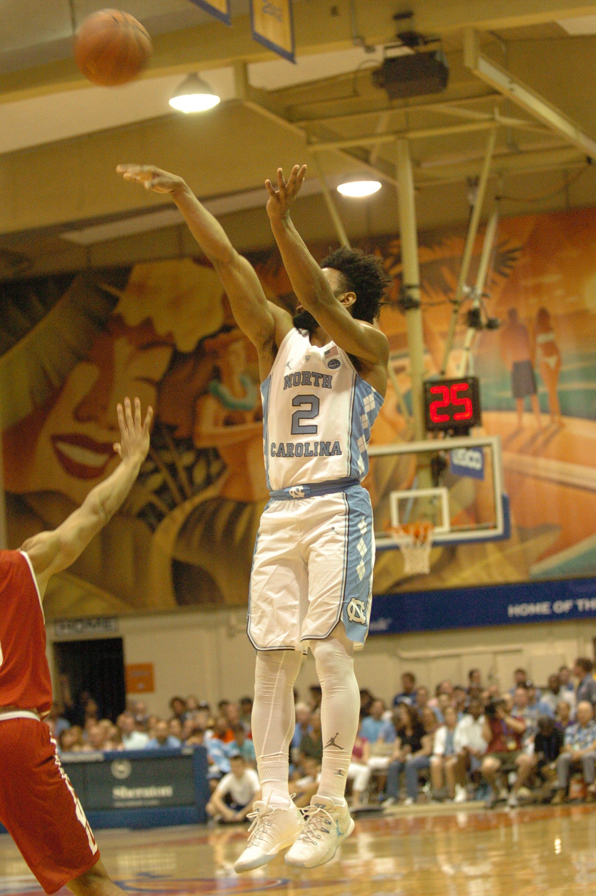 UNC #2 Joel Berry II. Championship game between UW vs UNC at the 2016 Maui Jim Maui Invitational. PC: Joel B. Tamayo.