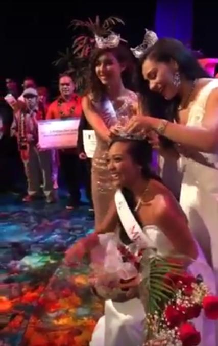 Miss Maui 2017 Casey Sales-Salcedo. PC: Maui Now