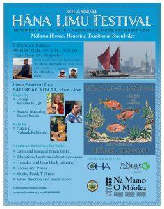 The 8th Annual Hāna Limu Festival will take place on Friday Nov. 18 and Saturday, Nov. 19 at Hāna Bay Beach Park. Photo Courtesy.