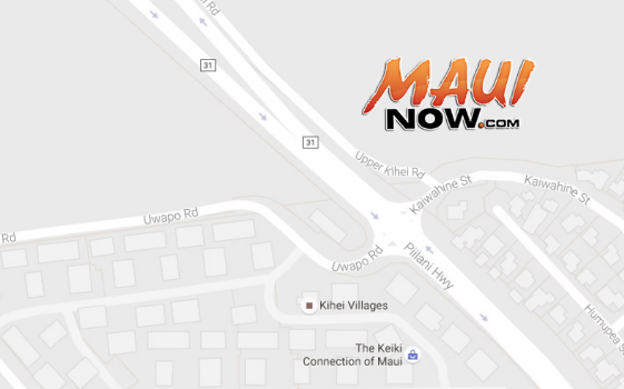 Map courtesy Maui Crime Stoppers.