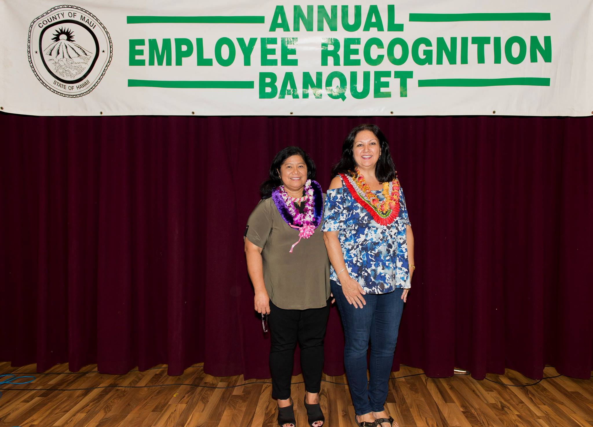 County of Maui Employee of the Year Laureen Perreira.