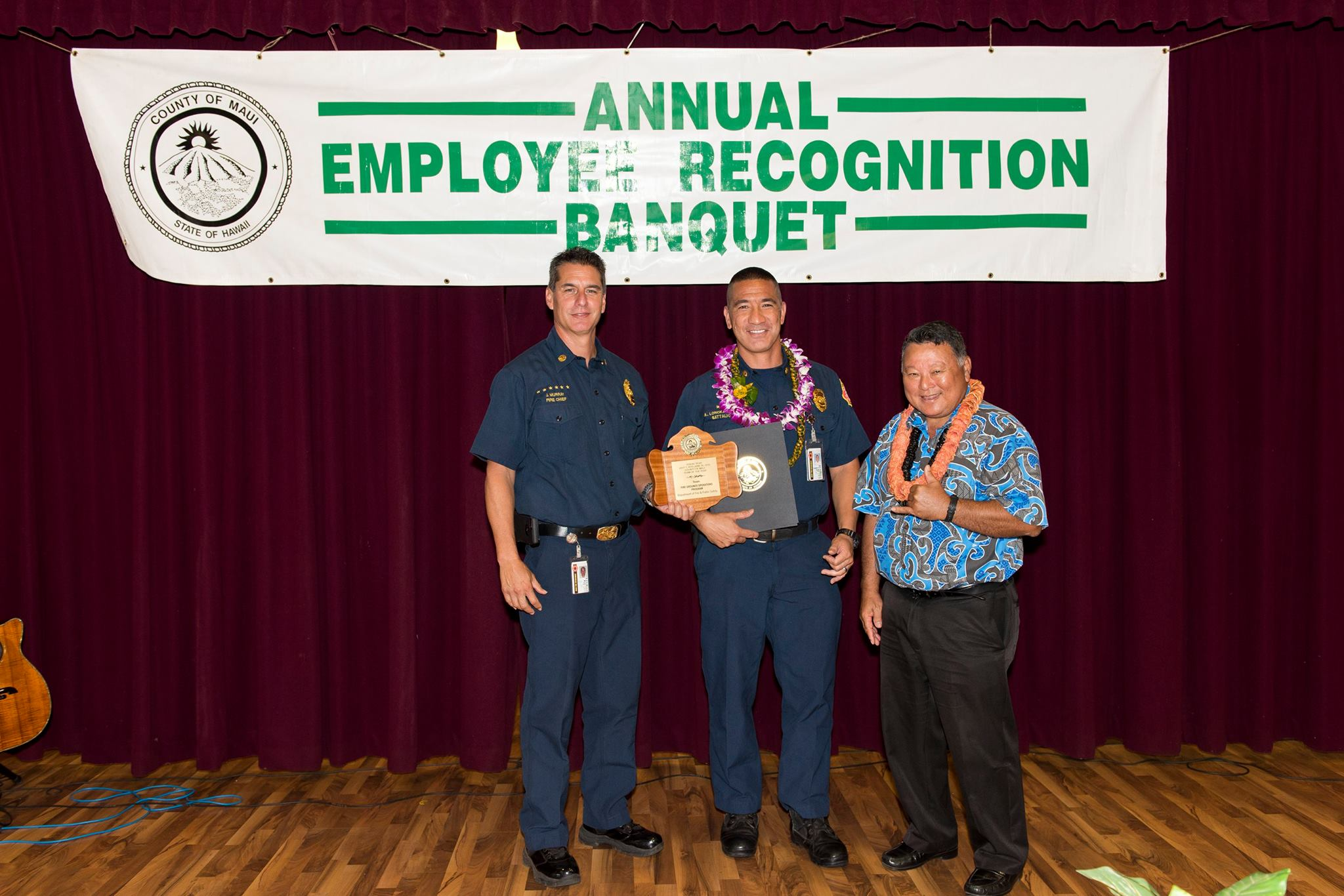 County of Maui Team of the Year, Fire Ground Operations.