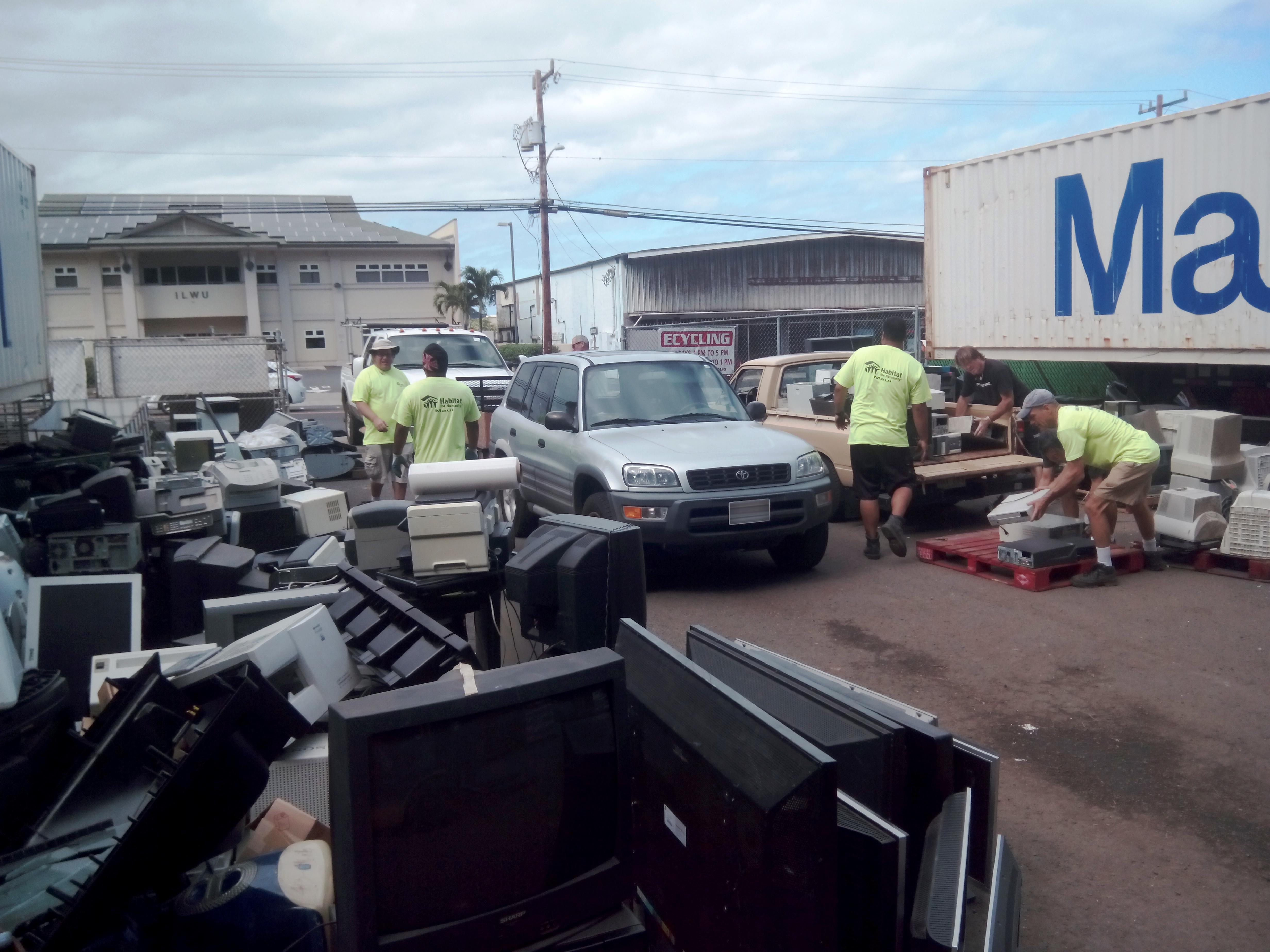 Temporary Closure of Moloka'i E-Cycling