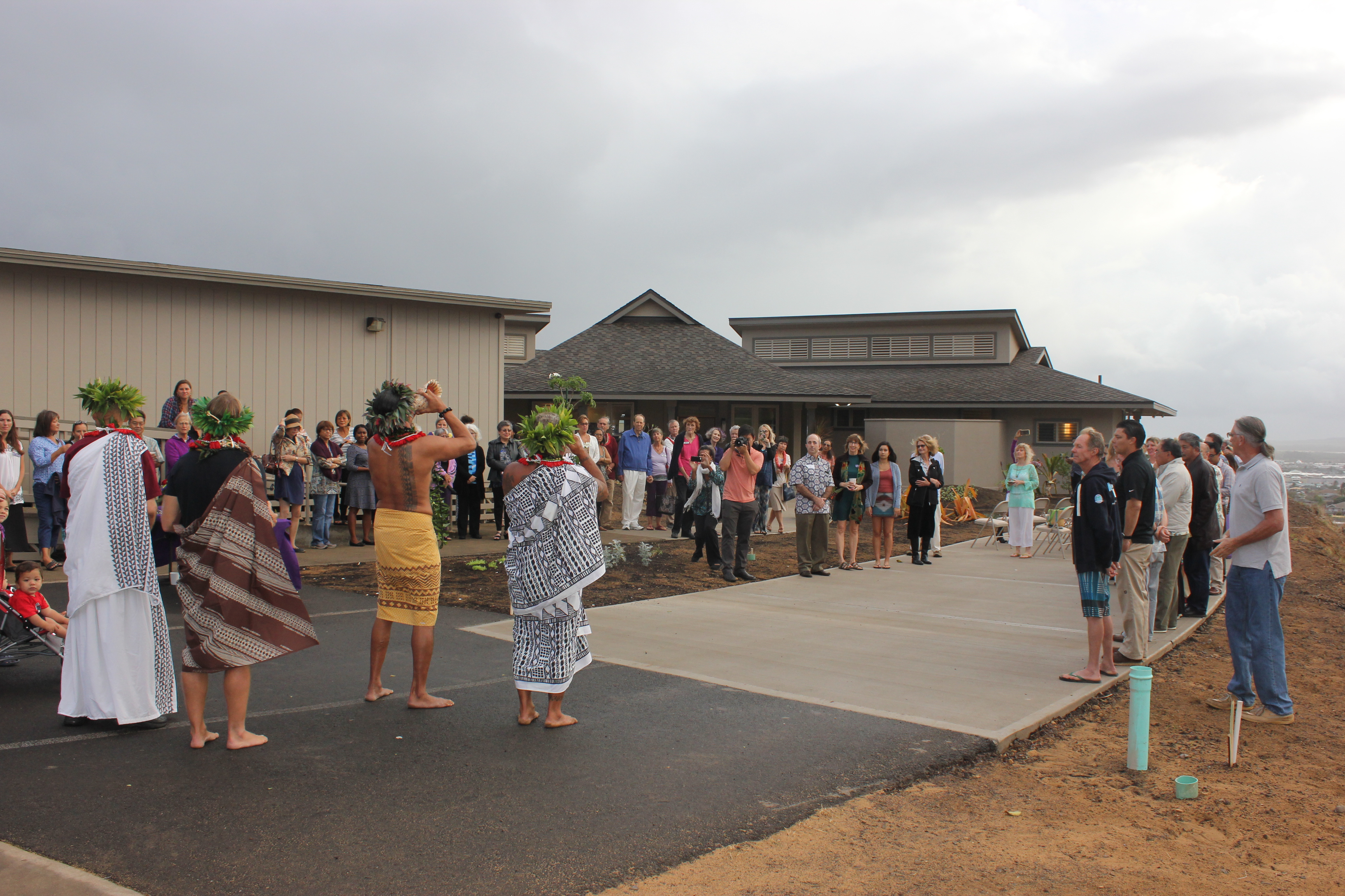 Opening Blessing for Hospice Maui Hale . PC: 12.1.16 Astrid Grupenhoff
