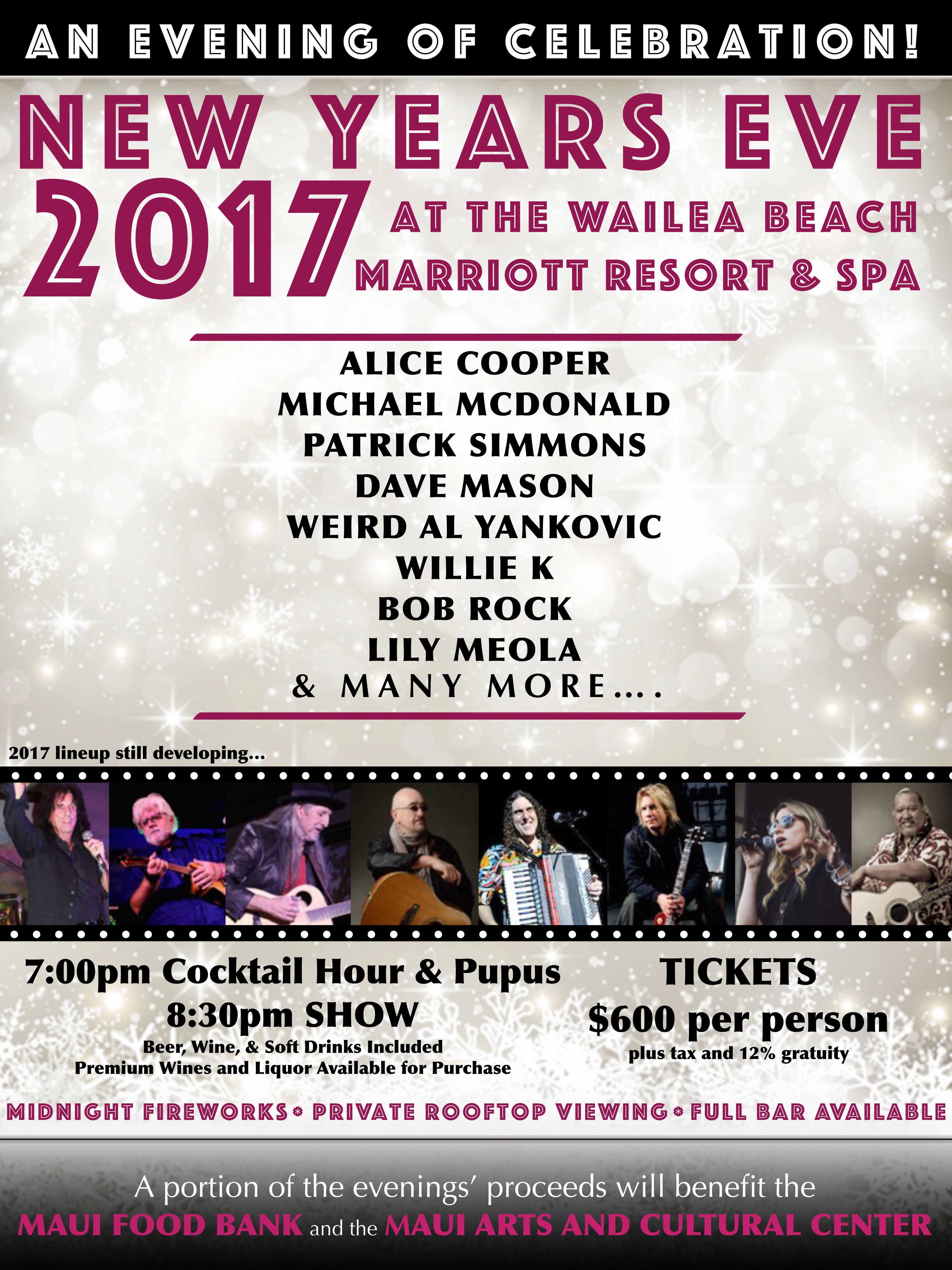 Maui Now : Maui\'s Star-Studded New Years Eve Party