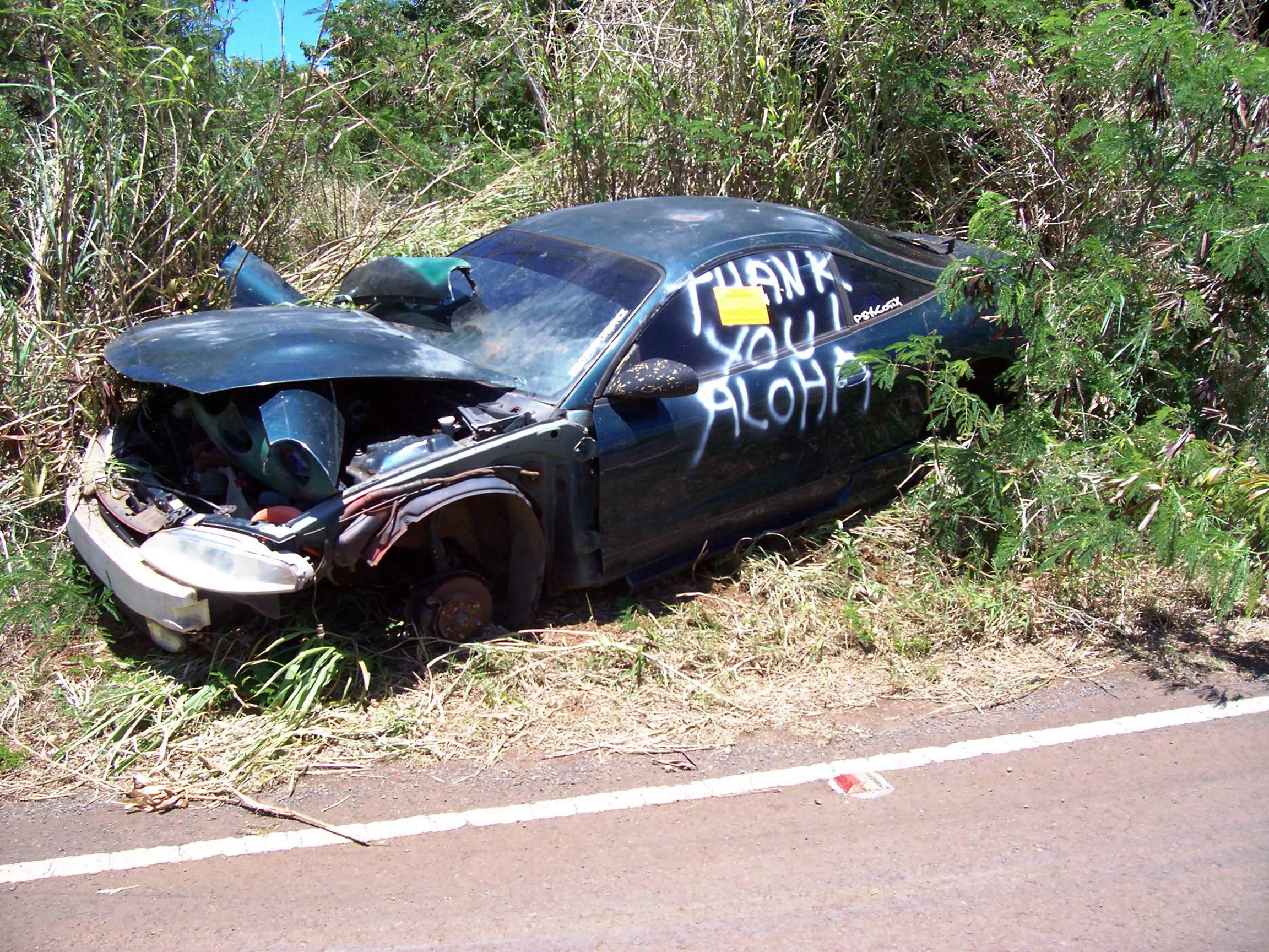 Maui Now : Maui Junk Vehicle Disposal Assistance Program Launched
