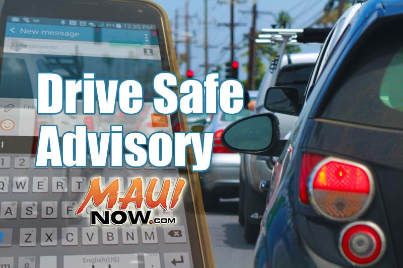 Maui Police Launch Distracted Driving Enforcement