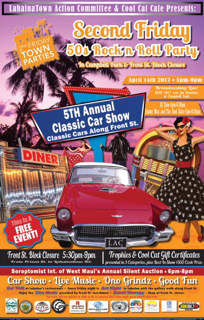 Maui Now Th Annual Classic Car Show At Lahaina Town Second Friday - Car show categories