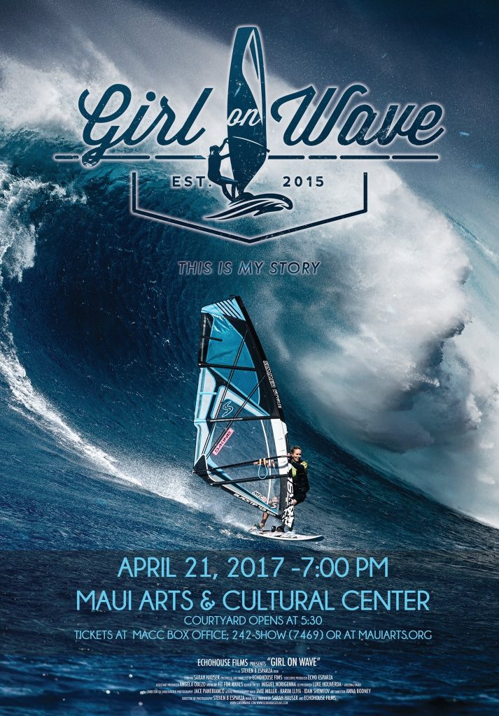 maui now premiere pro windsurfer sarah hauser s girl on wave 4 21