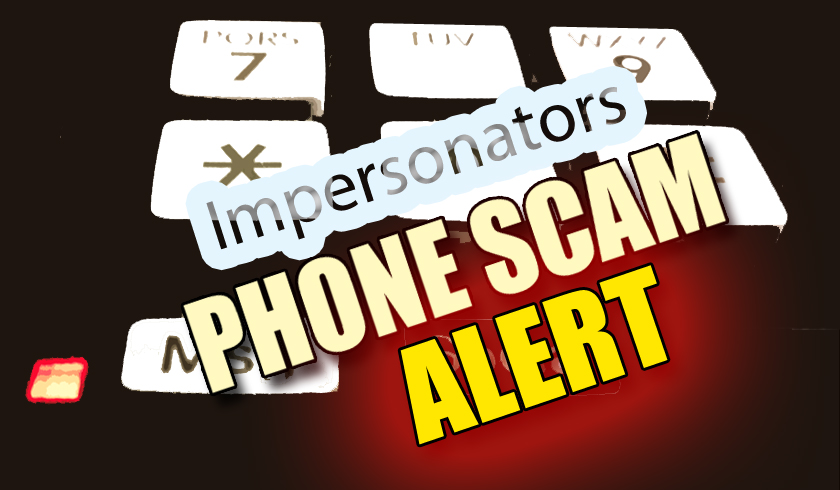Sheriff Impersonation Phone Scam Warning